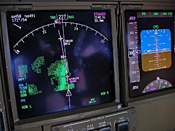 Eine fluggeschwindigkeit, verschiedene anzeigen
