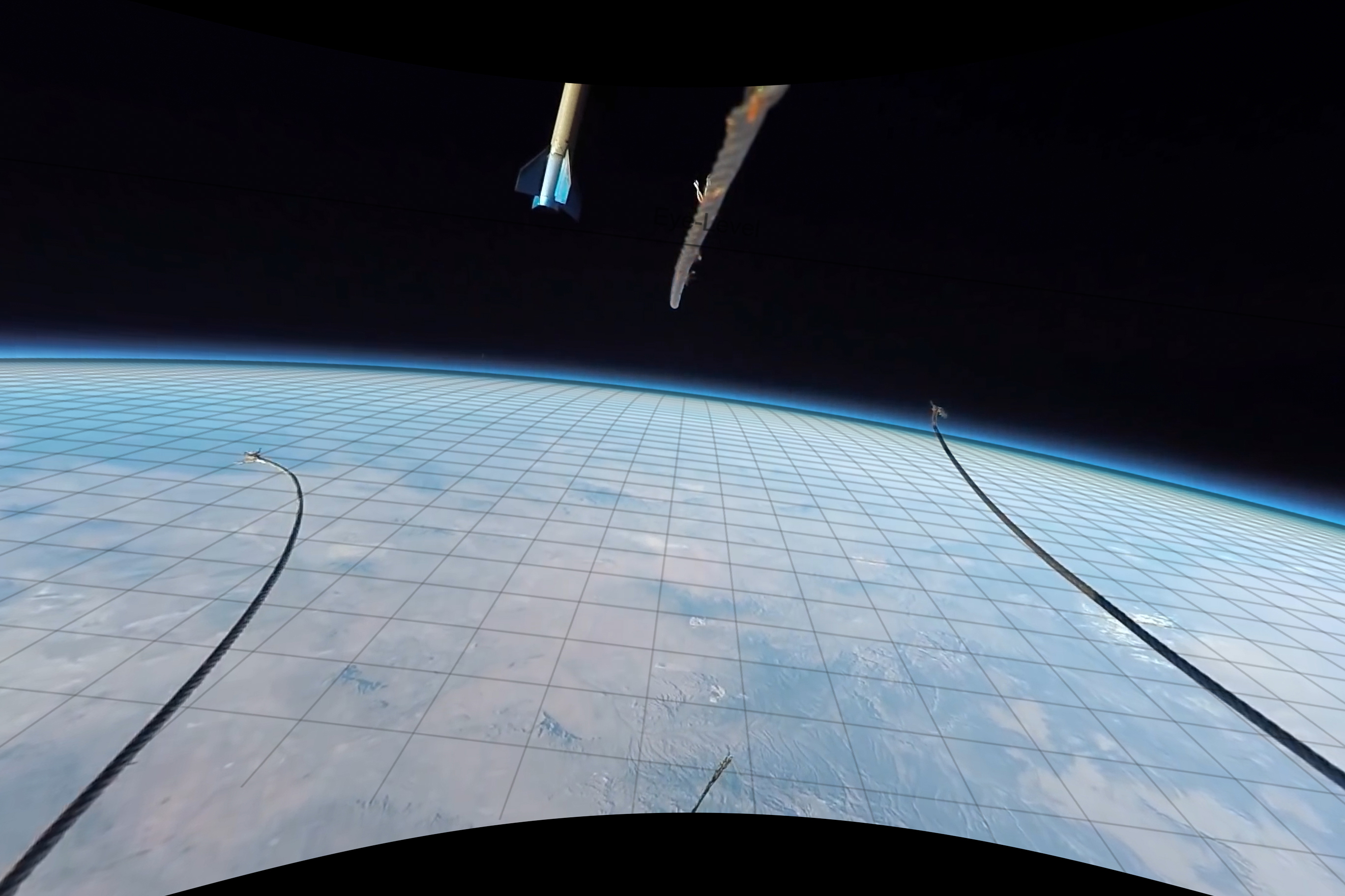 Flat-Earth: Finding the curvature of the Earth